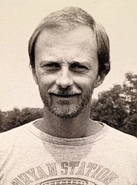 George Barber early in his coaching career at Bryan Station